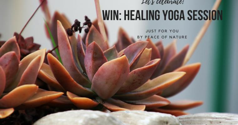 WIN: een Healing Yoga Sessie t.w.v. 69,-