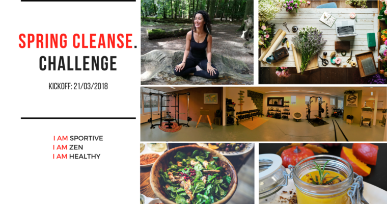 Spring Cleanse Challenge: Kickoff: 21/03
